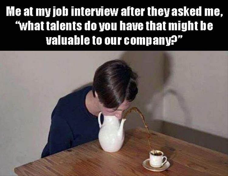 Job Interview talents