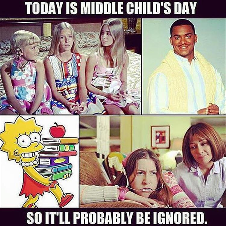 Middle Child Day Ignored