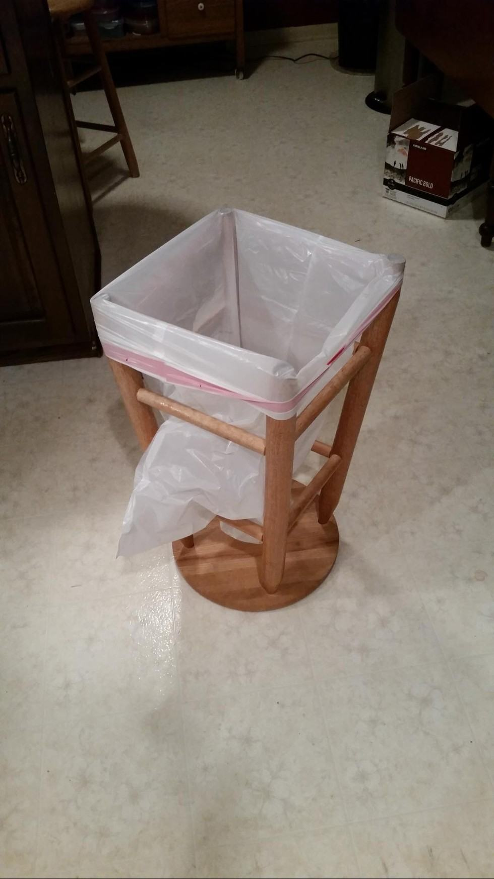 Stool Garbage Can bag