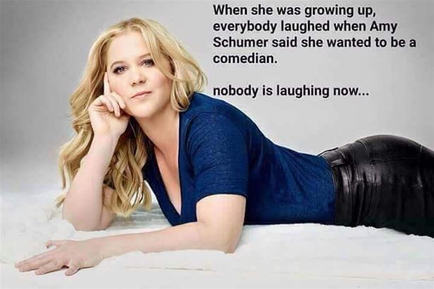 Amy Schumer not funny