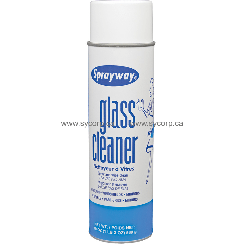 Sprayway Sw050 Ammonia Free Foam Glass Cleaner 19oz