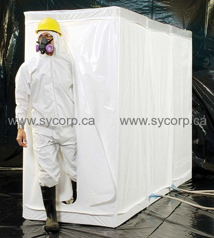 Grayling 3Room Decon Shower 1001005