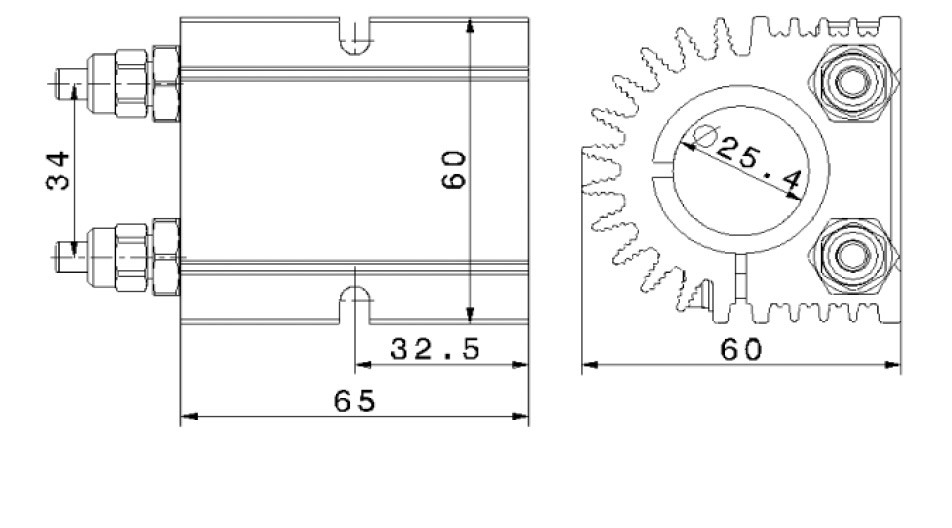 SycoTec GmbH & Co. KG › Clamping bracket 4825/25,4
