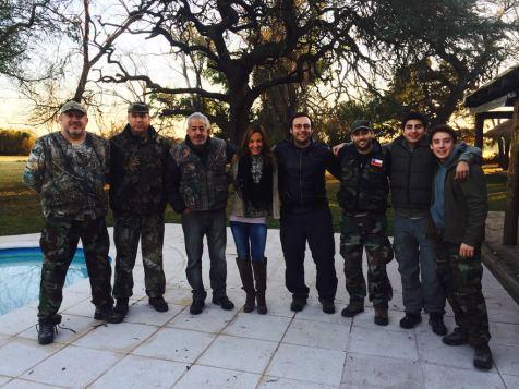 Cazar tórtolas en Argentina | El Cortijo