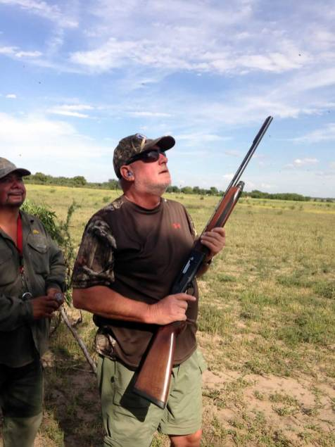 Hunters from Texas in Argentina