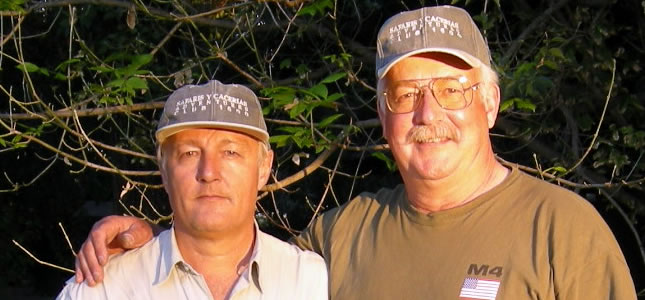 Tom Knapp and Eduardo Martinez