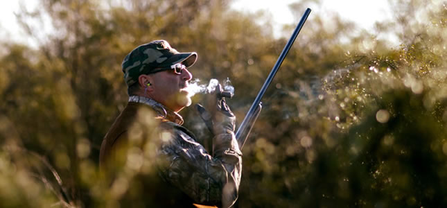 Pigeon hunt in Argentina