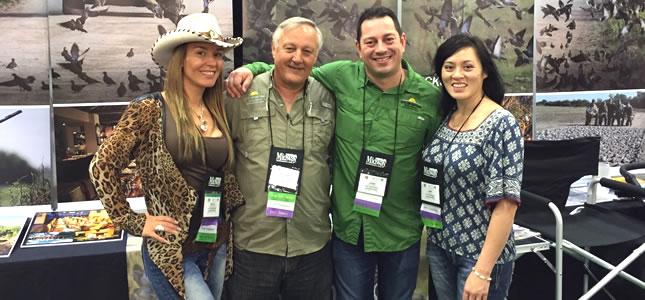 Paula Martinez, Eduardo Martinez, José Cabrera and Linh Vu