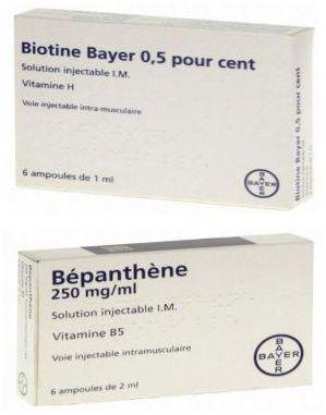 سعر ومواصفات حقن Biotine Bepanthene بيوتن وبيبانثين