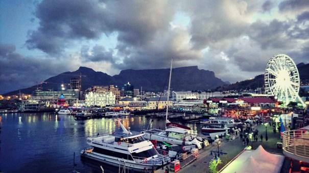 waterfront Kapstaden