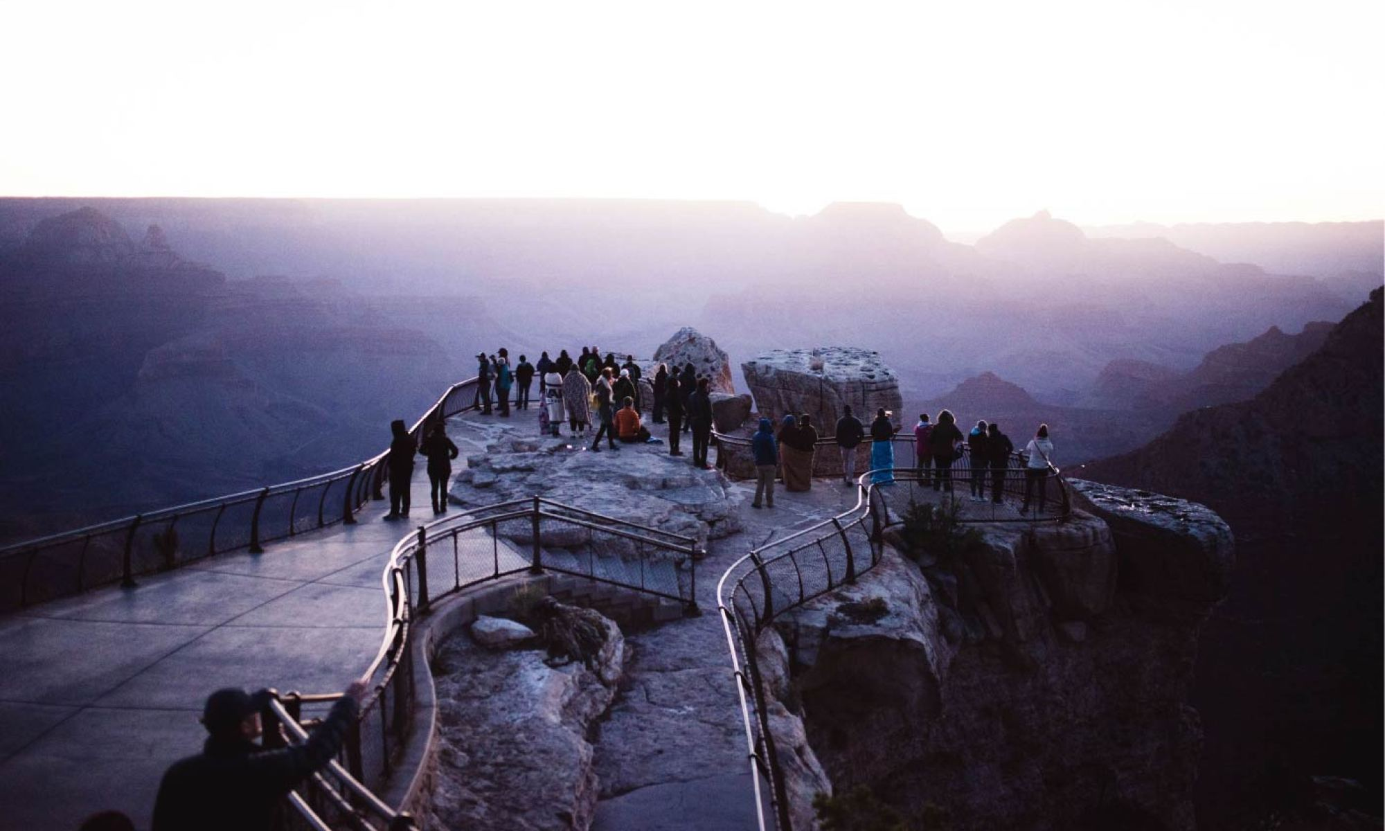 Sunrise at Mather's Point - Grand Canyon South Rim
