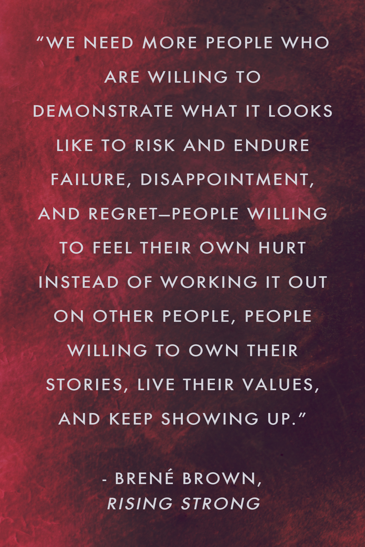 Brene Brown On Regret