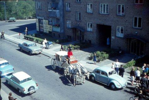 Brudekaret Händelsvej nr. 3, 1964.