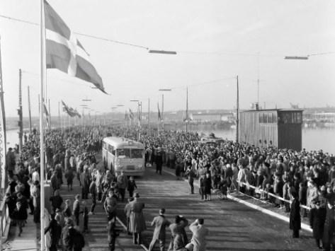 Sjællandsbroens indvielse