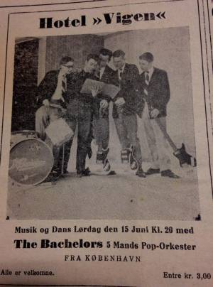 The Bachelors, Ebeltoft 1963