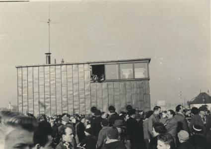 Sjællandsbroen - indvielse 1959