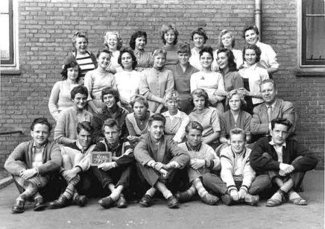Ellebjerg skole 1957 Realklasse