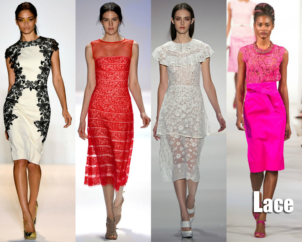 Spring 2013 New York Fashion Week Trends Lace