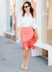 Swing Skirts with Button Down Shirts