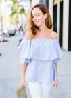 Summer Cute Off the Shoulder Top