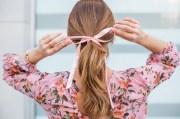 three tips wearing hair