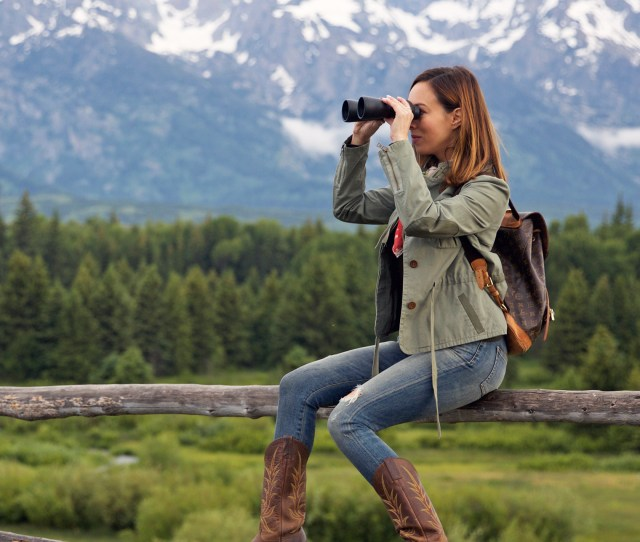 Sydne Style Shows What To Wear On Safari In Jackson Hole Wyoming Summer Vacation