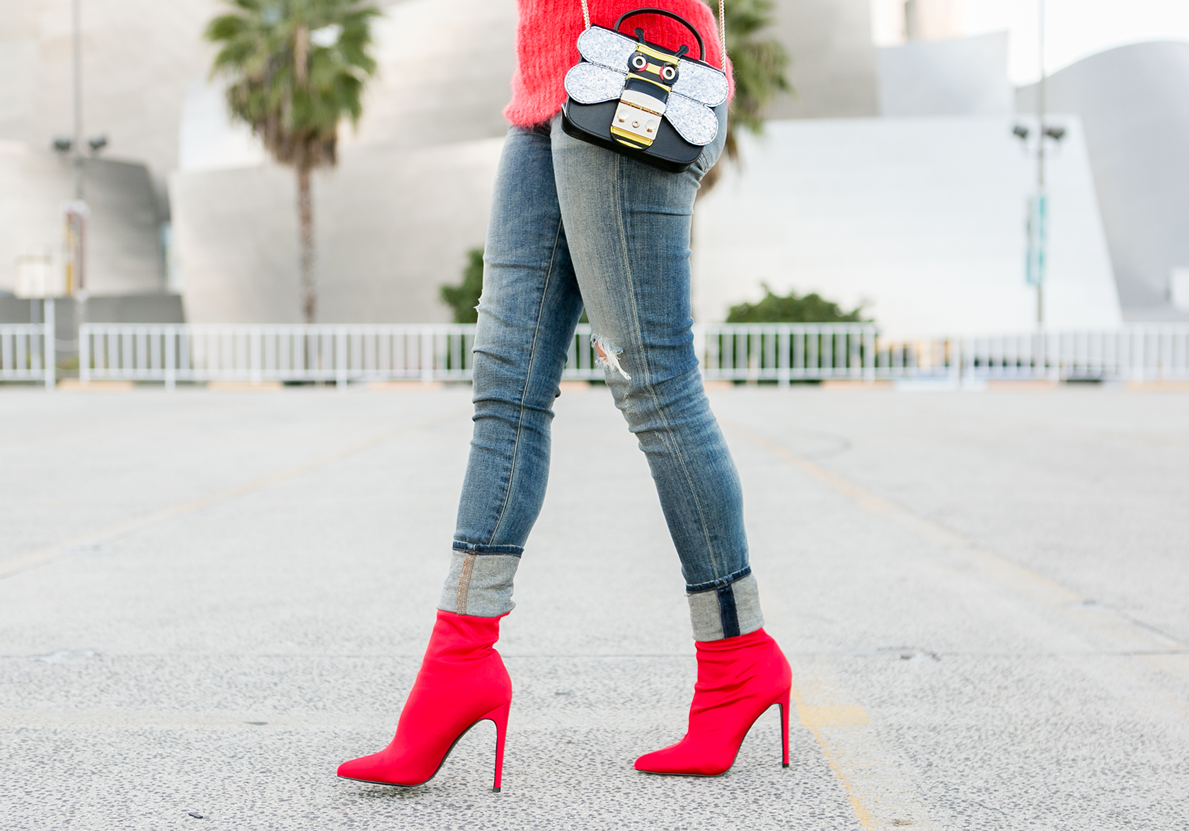 Shop Affordable Red Booties Holiday Fashion Trends