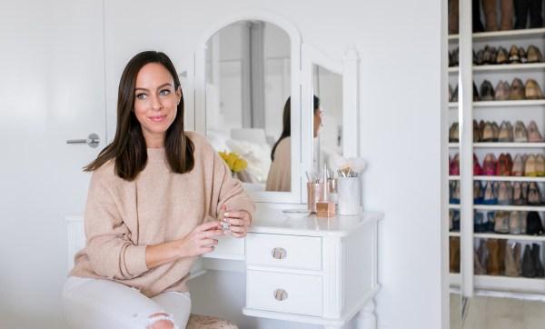 Sydne Style Shares Bedroom Design Ideas With White Vanity