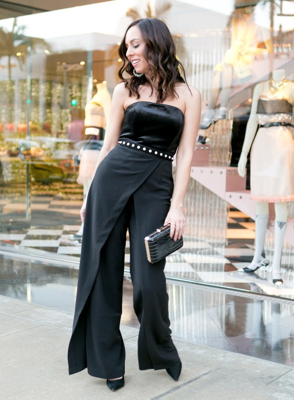 fedd3943e070 Office Holiday Party Outfit · White House Black Market Jumpsuit