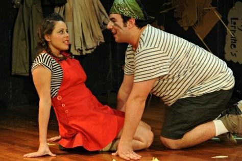 Emily Ayoub and Michael Cutrupi. Pic Heidrun Lohr