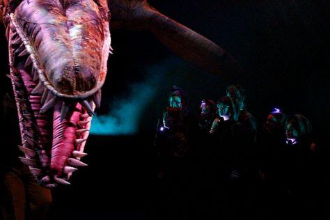 Erth_Prehisoric Aquarium.Kronosaur + kids