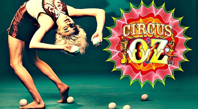 CIRCUS OZ PRESENTS  BUT WAIT..THERE'S MORE @ THE BIG TOP MOORE PAR