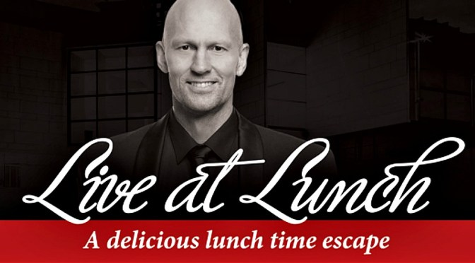 LIVE AT LUNCH – CLASSICAL HEROES AND THE ART OF SEDUCTION @ THE CONCOURSE CHATSWOOD