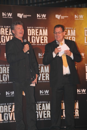 Director Simon Phillips and producer John Frost