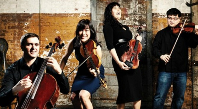 MUSICA VIVA PRESENTS THE ENSŌ QUARTET@ANGEL PLACE