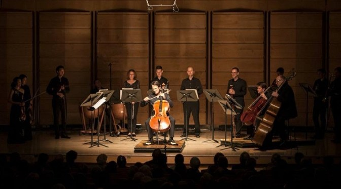 OMEGA ENSEMBLE: ELGAR'S CELLO CONCERTO @ CITY RECITAL HALL