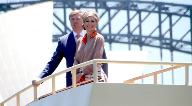 DUTCH KING AND QUEEN VISIT SYDNEY