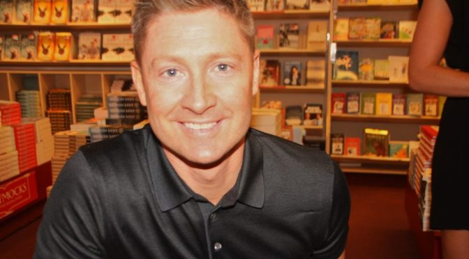 BOOK SIGNING : MICHAEL CLARKE : 'MY STORY'