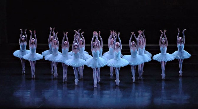 PARIS OPERA BALLET MAGNIFICENT REVIVAL OF NUREYEV'S 'SWAN LAKE'
