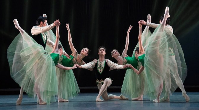THE ROYAL BALLET IN BALANCHINE'S 'JEWELS'
