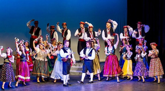 ROCKDALE OPERA COMPANY PRESENTS  GILBERT AND SULLIVAN'S 'THE GONDOLIERS'