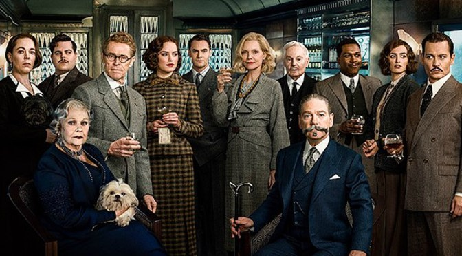 ALL ABOARD KENNETH BRANAGH'S 'ORIENT EXPRESS'
