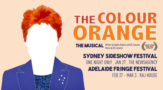 THE COLOUR ORANGE: PART OF THE SIDESHOW FESTIVAL