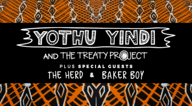 YOTHU YINDI & THE TREATY PROJECT @ ENMORE THEATRE