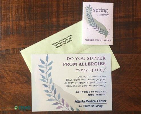 wellstar-atlanta-medical-center-seasonal-allergy-direct-mail-seed-packet-front