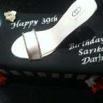 Shoe & Shoe Box Cake