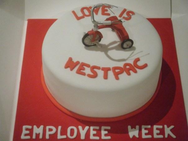 Love is Westpac Cake