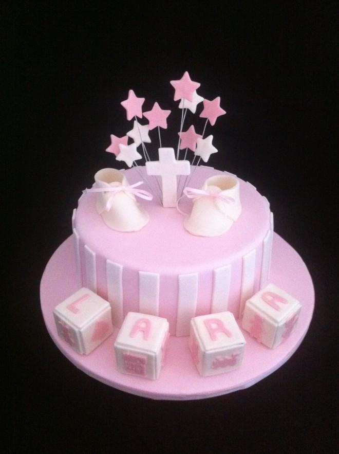 Cake Art Penrith Jamisontown Nsw : Girls Christening Cake Sydney Cake Art