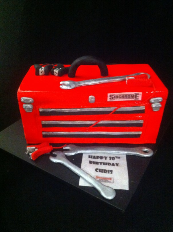 Mechanics Toolbox Cake