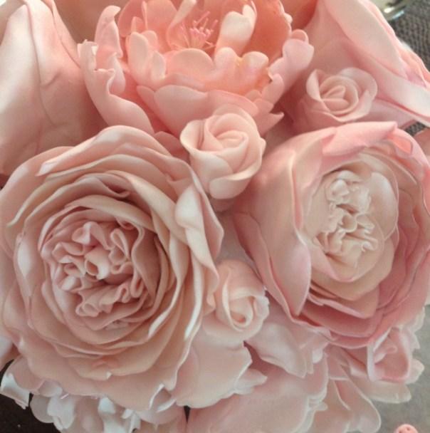 Peony & David Austin Roses